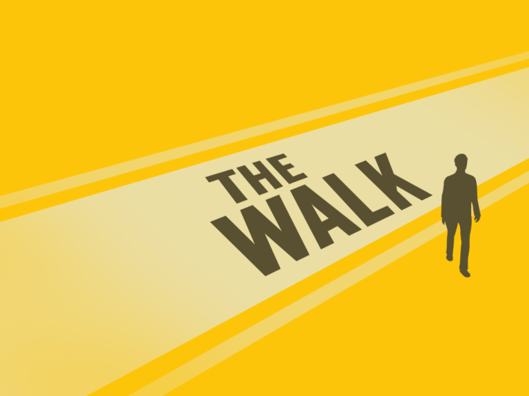 """""""The Walk"""" is a new mobile game that challenges its players to take a few more steps each day."""