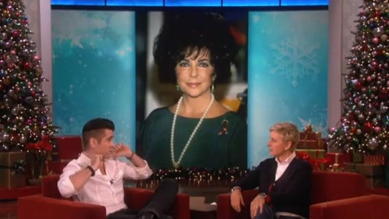 Image: Colin Farrell, Ellen DeGeneres