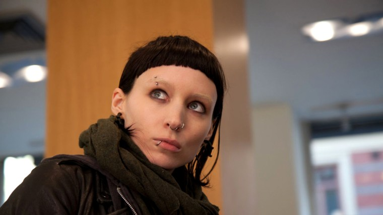 """Rooney Mara starred in the movie adaptation of """"The Girl with the Dragon Tattoo."""""""