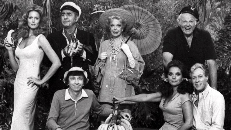 """Image: The cast of """"Gilligan's Island"""""""