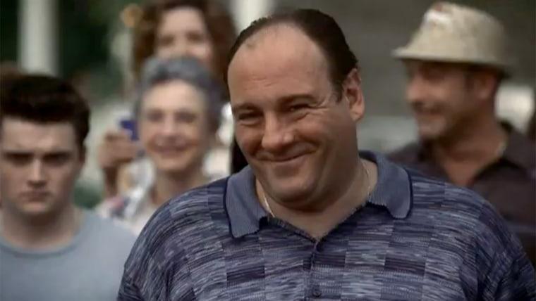 """James Gandolfini in """"The Sopranos."""""""