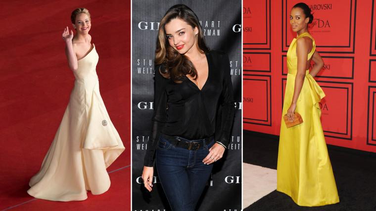 Image: Fashion stars