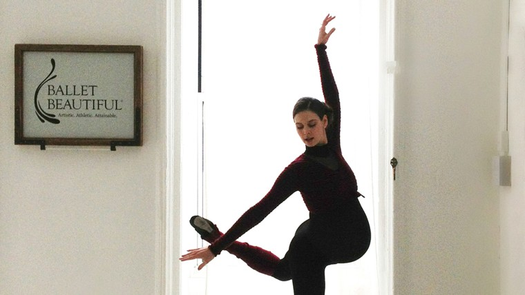 Mary Helen Bowers has been dancing throughout her pregnancy.