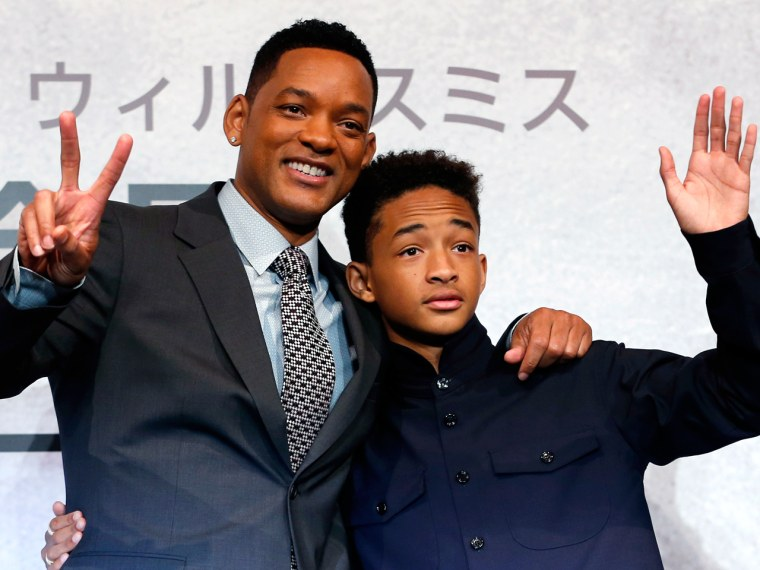 IMAGE: Will and Jaden Smith