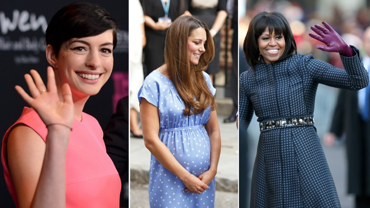 Actress Anne Hathaway, Duchess Kate and first lady Michelle Obama are just a few of the noteworthy women noted in the past year.