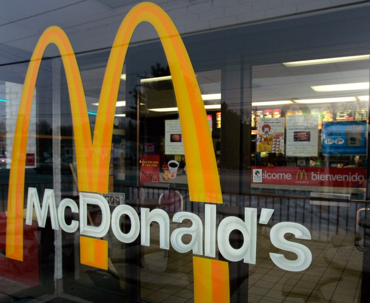 McDonald's is again offering advice to employees, this time bashing fast food.