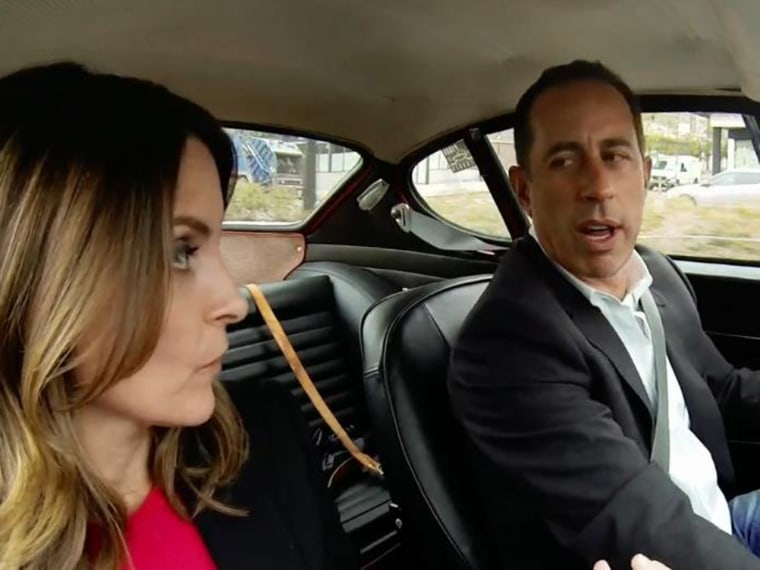 Image: Tina Fey and Jerry Seinfeld