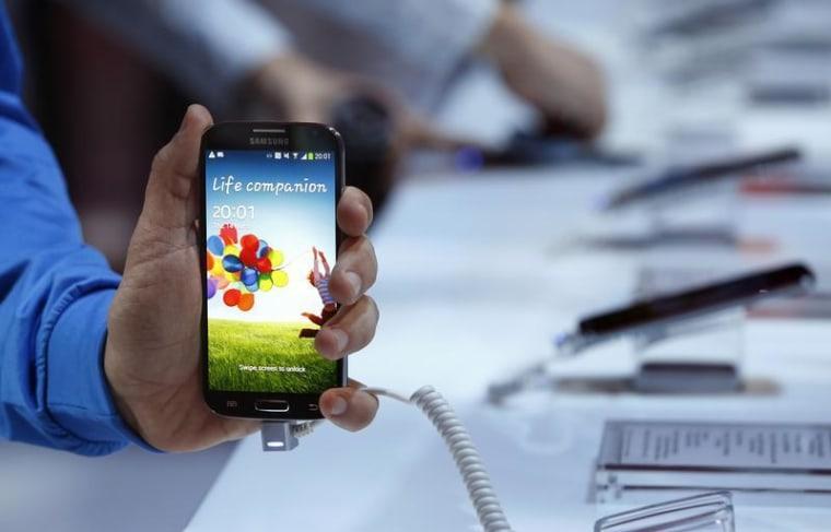 IMAGE: Samsung Galaxy S4 phone