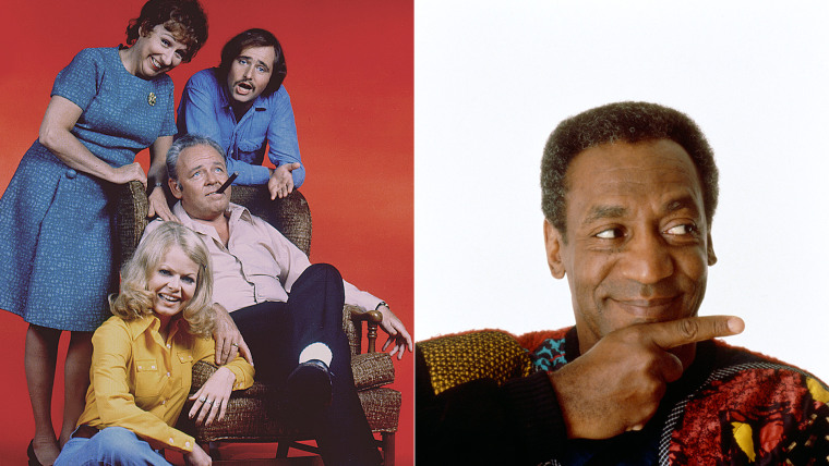 """Image: \""""All in the Family,\"""" The Cosby Show\"""""""