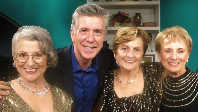 """The """"Golden Sisters"""" with Tom Bergeron"""