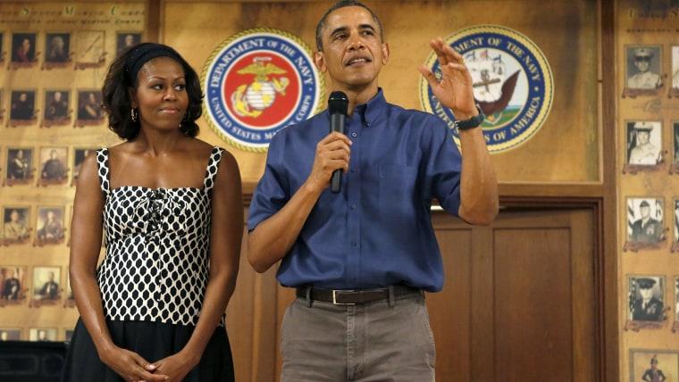 President Obama style