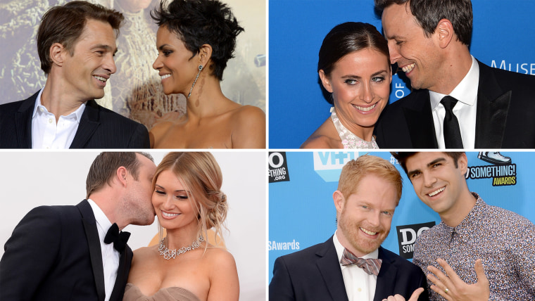 Celebrities who wed in 2013