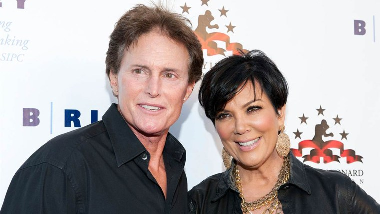 Image: Bruce and Kris Jenner