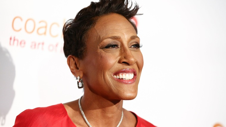 Robin Roberts attends CoachArt's 9th Annual 'Gala Of Champions' at The Beverly Hilton Hotel on October 17, 2013.