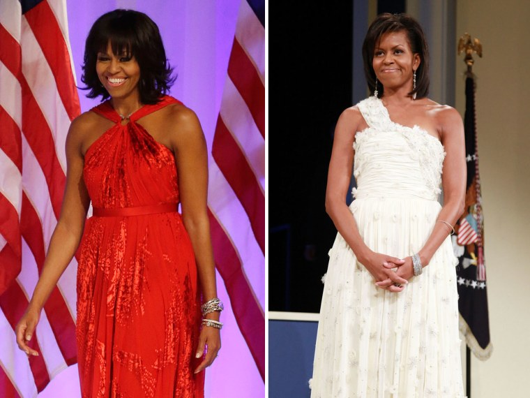 Once Again Michelle Obama Dazzles In Inaugural Gown By Jason Wu