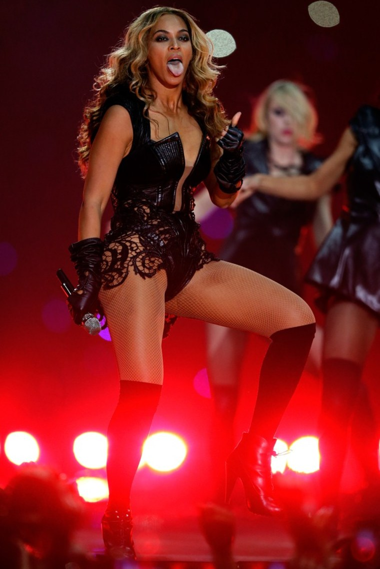 Beyonce's sexy performance at the Super Bowl was criticized by some who feel the game should offer family entertainment.