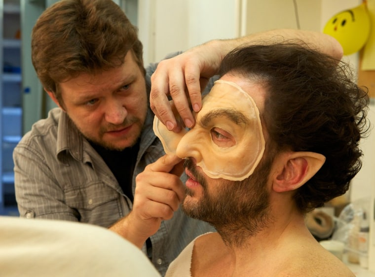 Zombies And Monsters Put Spotlight On Makeup Artists