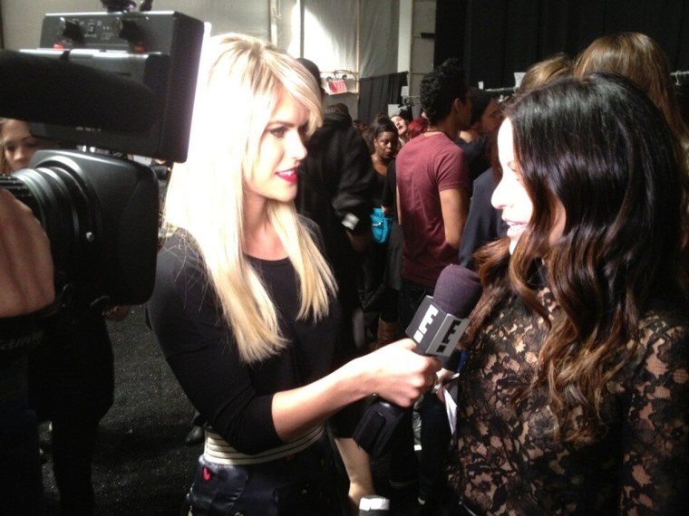 Lauren Scruggs has been covering New York Fashion Week for E! News.