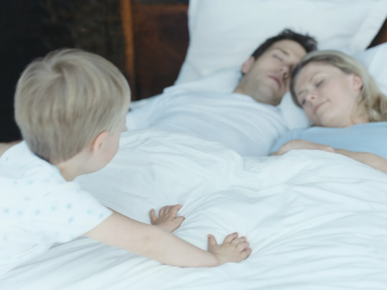 Sleep deprivation is not helped by little people waking you up too early in the morning.