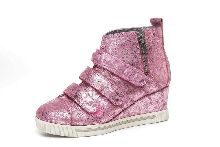 b5e861aa7acb High-heel sneakers wedge their way onto kids feet – but should they  Cute