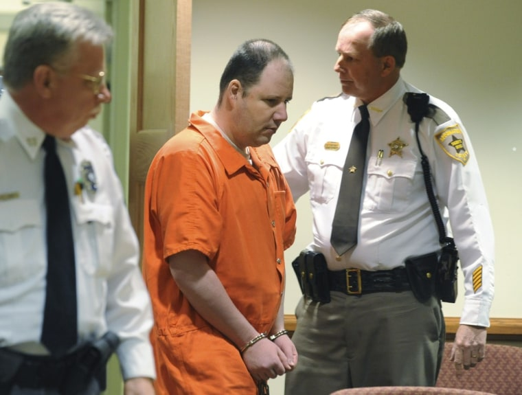 Christopher Speight arrives in Appomattox (Va.) County Circuit Court on Friday.
