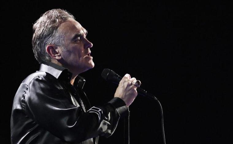 Morrissey in 2012