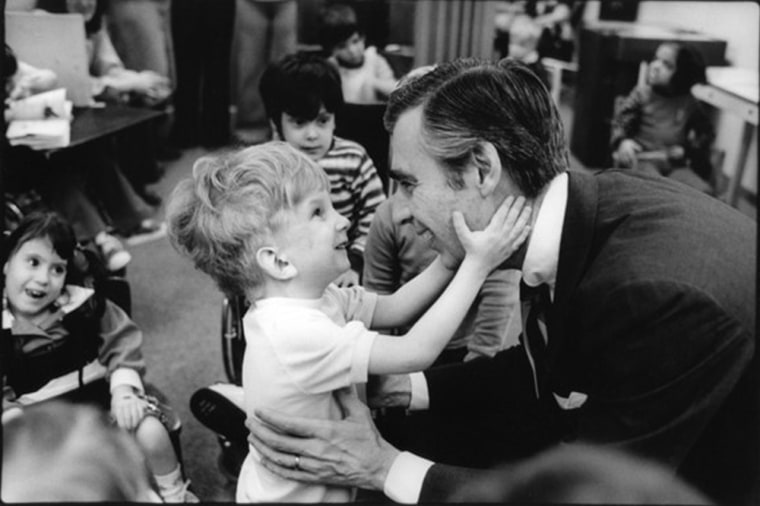 "Fred Rogers created ""Mister Rogers Neighborhood"" to give kids an alternative to ""demeaning"" TV."