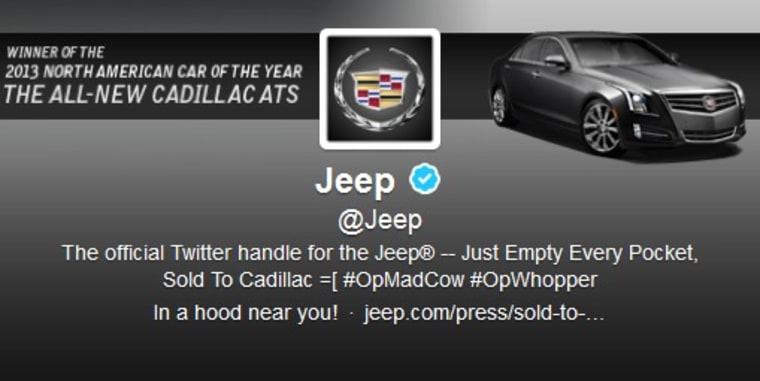 Jeep Twitter