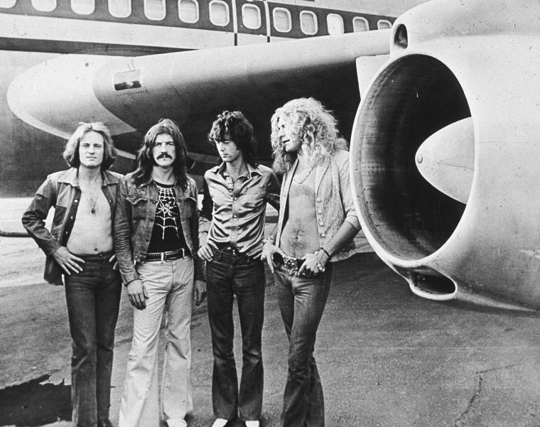 Led Zeppelin in 1973.