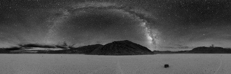 The night skies above the Racetrack area of Death Valley National Park.