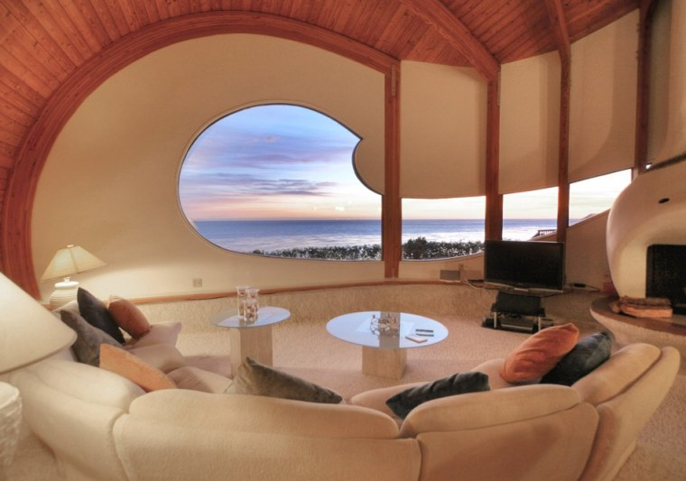 The Wave House in Goleta, Calif., was engineered to not only look like a wave but to capture the sound as well.