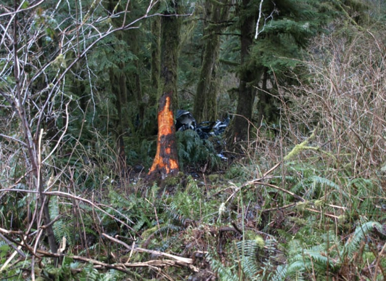 A woman died in a car crash near Naselle, Wash., early Wednesday, but her two daughters survived the accident.
