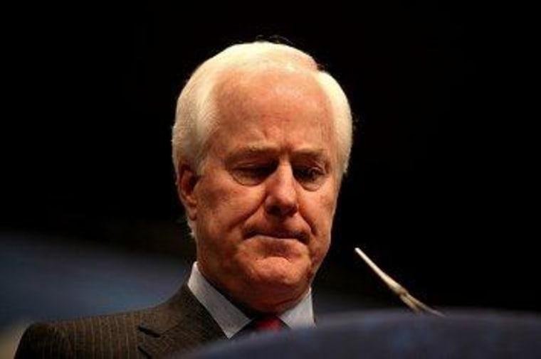 Senate Minority Whip John Cornyn (R-Texas)