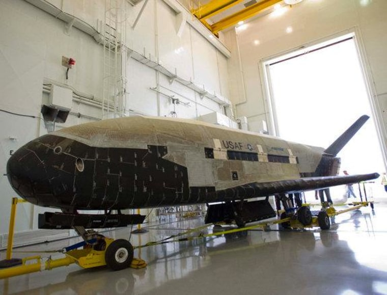 Stretching 29 feet in length and weighing 11,000 pounds, the second Boeing-built X-37B became the longest on-orbit space vehicle on June 16, 2012 when it completed a 469-day mission with an autonomous landing at Vandenberg Air Force Station in California.