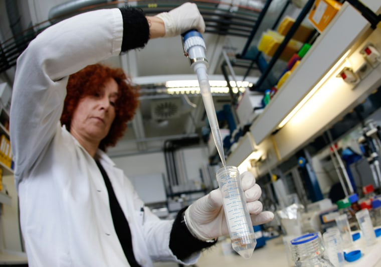 An employee of the microbiological laboratory of the Austrian Agency for Health and Food Safety prepares a sample of minced meat in Vienna this week. The samples of minced meat are tested for the presence of horse meat as a precaution. United States officials say it's highly unlikely the scandal will reach U.S. consumers.