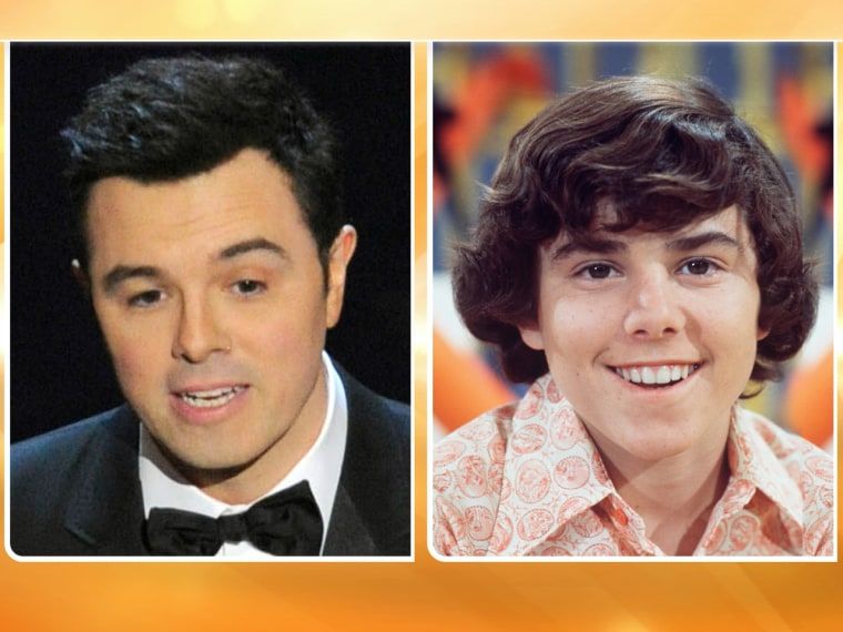 Here's the story: Some Oscar-watchers felt host Seth MacFarlane looked more than a little like Peter Brady.