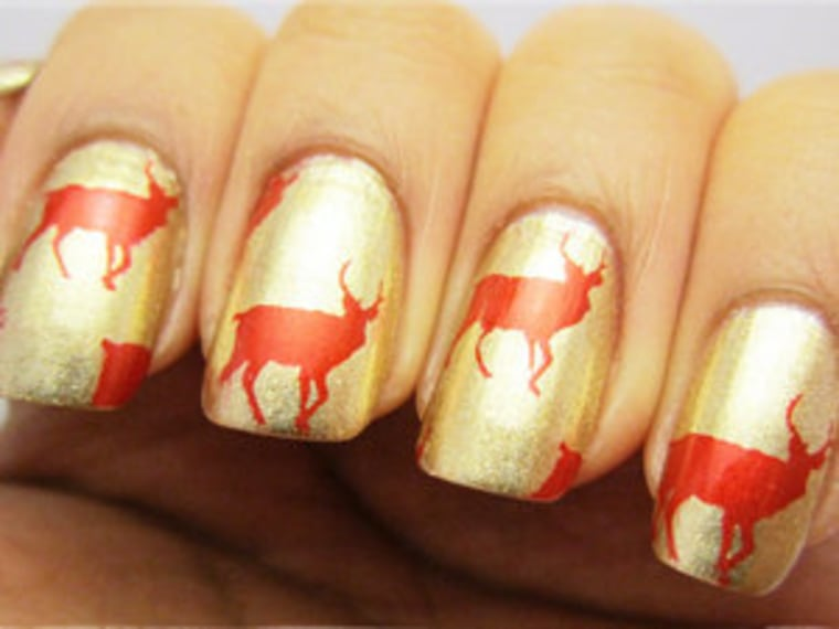 11 Holiday Nail Art Ideas You Ve Never Seen