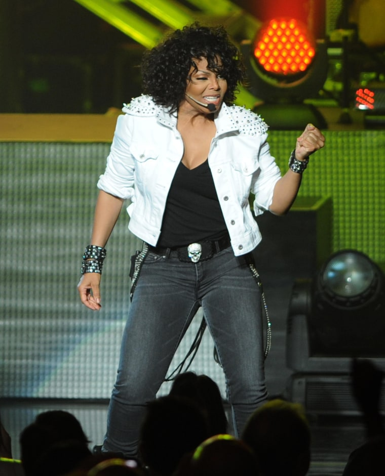 Janet Jackson, shown here performing on Dec. 5, in Miami Beach, Florida, is not on PETA's good list.