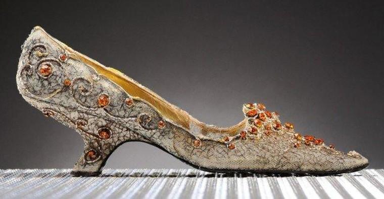 A rather pricey Roger Vivier design for Princess Soraya.
