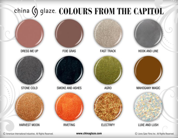 Choosing a favorite color could be harder than choosing between Peeta and Gale, Katniss' dueling love interests.