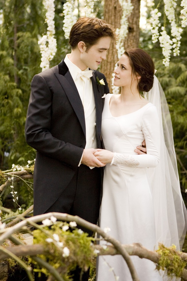 Prince William and Kate who? RPat and KStew star in the wedding of the century.