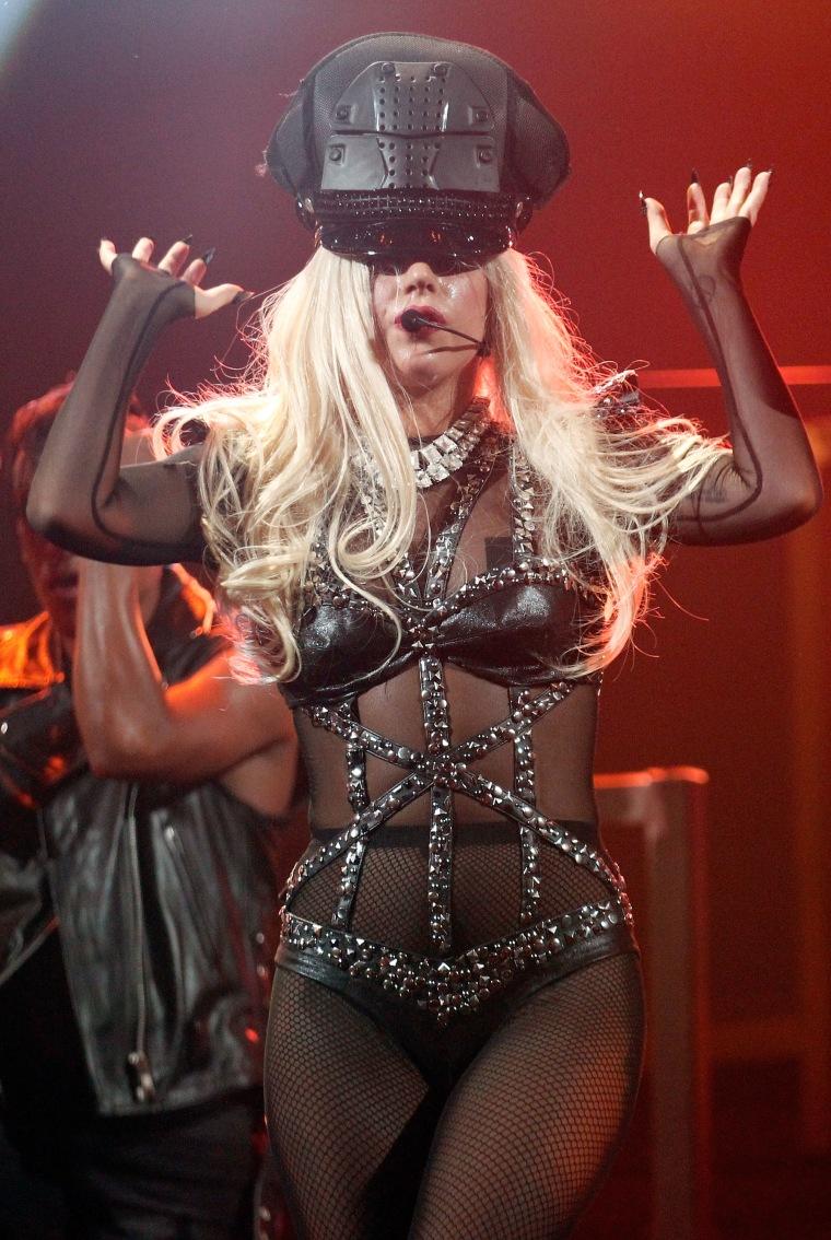 Lady Gaga, hat-wearing hall-of-famer.
