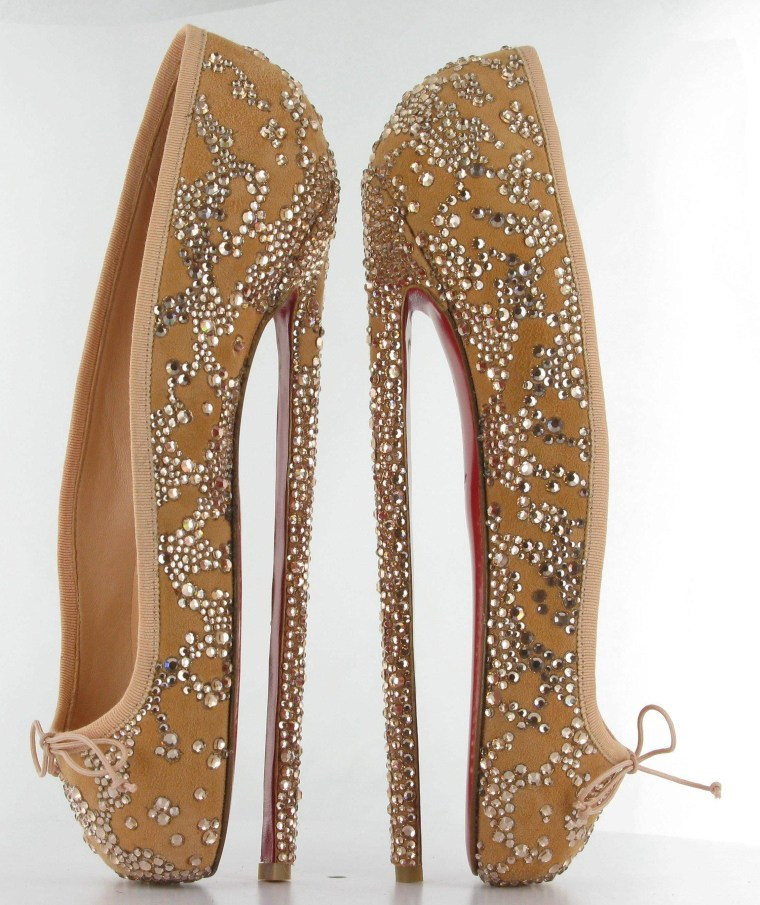 Ballet dancers might be the only ones capable of the footwork required for these Louboutin heels.