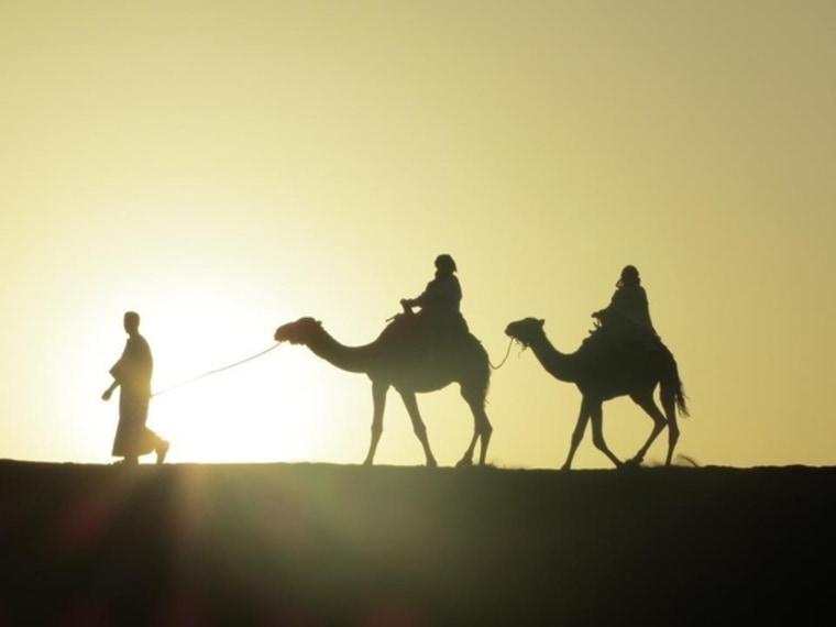 Image: Sahara desert