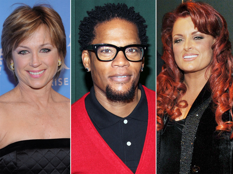 "Dorothy Hamill, D.L. Hughley Wynonna Judd are among the stars ready to go ""Dancing."""