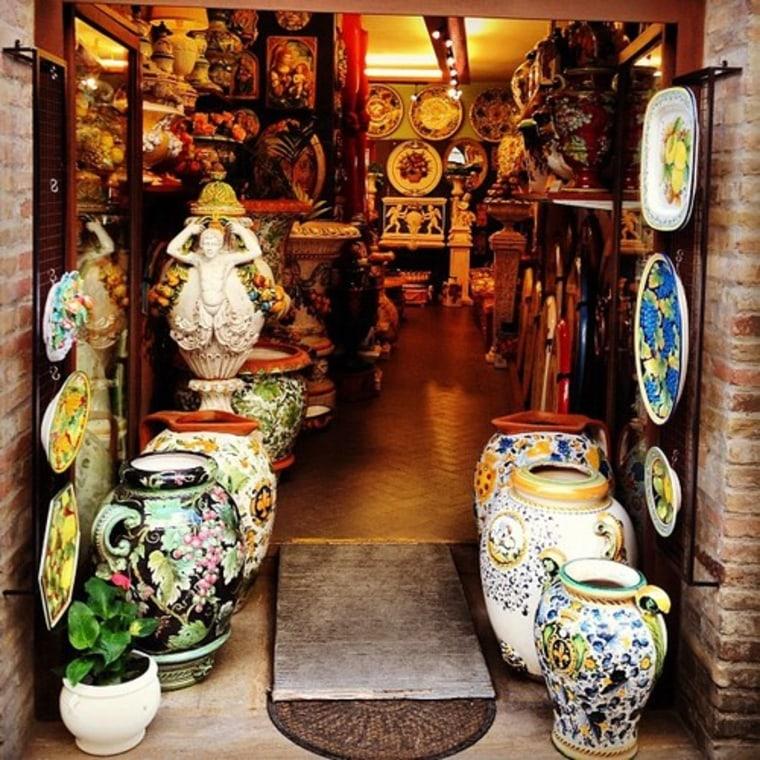 Image: Tuscany shop
