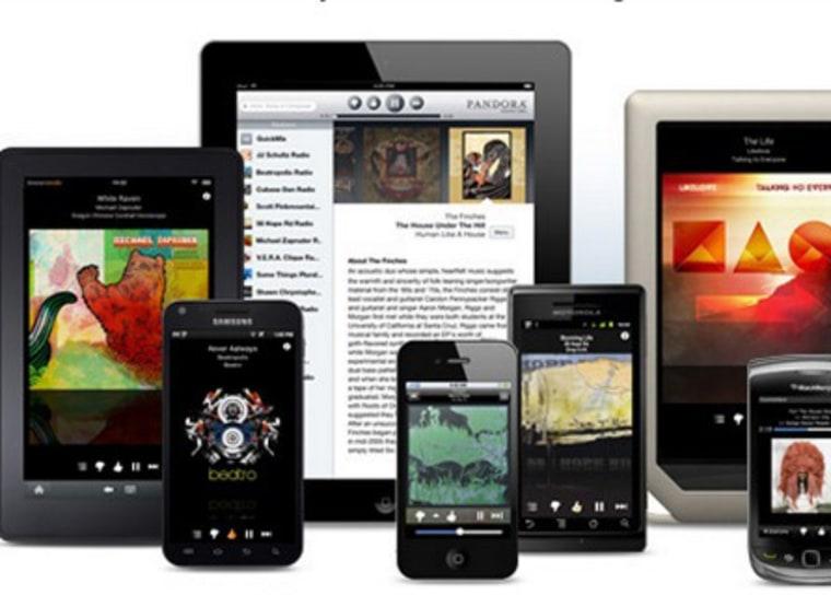 Pandora on mobile devices
