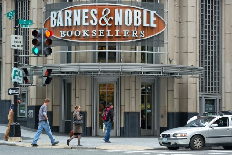 A Barnes & Noble bookstore is seen on April 30, 2012 in Washington, DC.