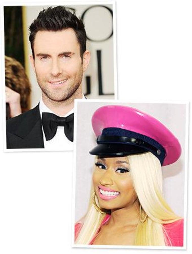 Nicki Minaj And Adam Levine To Design Clothes For Kmart