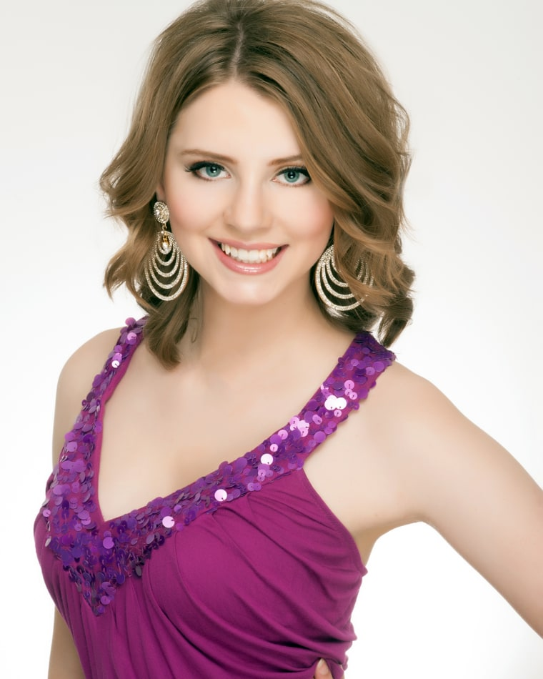 Alexis Wineman, MIss Montana 2012, is the first-ever Miss America contestant who lives with autism.